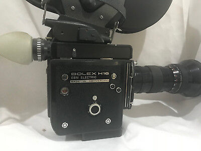 Bolex H16 EBM Electric AS IS See Pictures