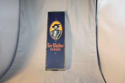 Vintage Sir Walter Hose, Empty Box, Men's Hosiery Box, size 11