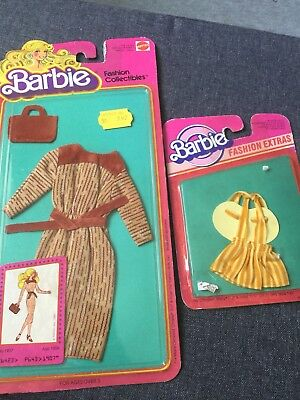 Barbie Fashion Collectibles 1980 + Fashion Extras 1983* Mattel