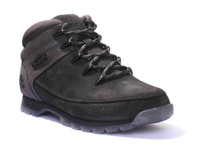 Hiker Men Sprint A1kac Nubuck Euro Leather Timberland Black g6yYbf7v