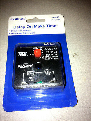 ICM Replacement Delay On Make Timer 0.03 to 10.0 Min (ICM102B) PTD102 By Packard