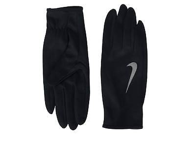 $45 NIKE Men's Dri-Fit Running Gloves Black ATHLETIC WINTER RUN SPORT SIZE S M