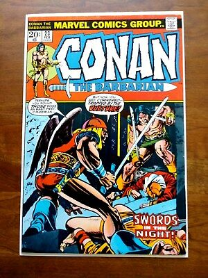 Conan the Barbarian #23 1st appearance Red Sonja VF/NM 9.2
