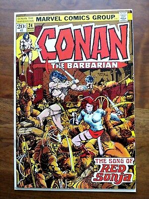 Conan the Barbarian #24 1st FULL Red Sonja in VF/NM NICE COPY!