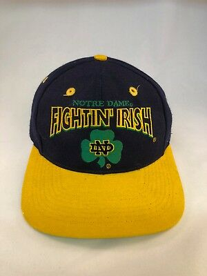 University Of Notre Dame Fighting Irish Vintage The Game Snapback Hat