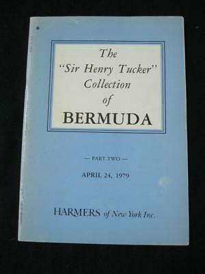 Harmers Auction Catalogue 1978 Bermuda 'tucker' Collection Part Ii