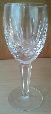 Waterford Crystal Kildare Pattern Claret Wine Glass Signed