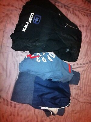 Designer Kids Clothing 3 Items,2 Hoodies +1 Top Boys 13-16 Years Used