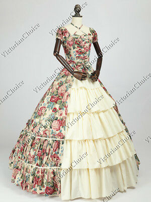 Victorian Choice Queen Dress Princess Fairtale Fantasy Theater Clothing N 024