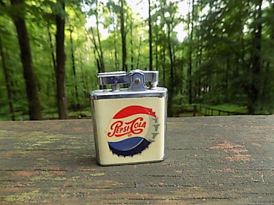 VINTAGE PEPSI COLA LIGHTER WITH MUSIC BOX   No Reserve
