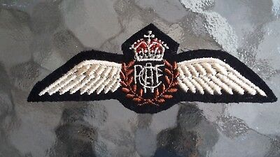 Rcaf  Pilot Wing Classic Pattern  Wwii