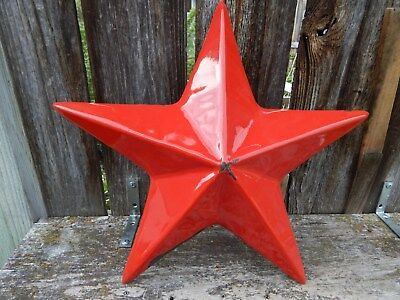 Texaco Porcelain Star From The 1940's - Must See This One!
