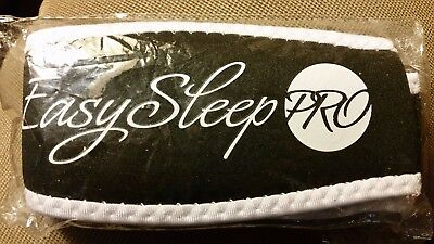 EASY SLEEP PRO UNISEX ANTI SNORE SLEEPING SOLUTION CHIN STRAP BLACK NEW Small