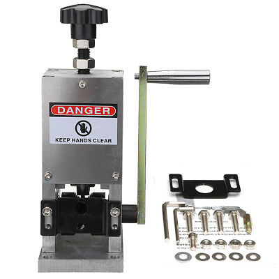 SD-025 Wire Stripping Stripper Machine With Handle 1.5mm - 25mm Copper Recycling