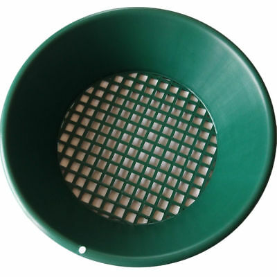 Metal Detector Gold Rush Sifting Prospecting 14Inch Classifier Sieve Pans Sluice
