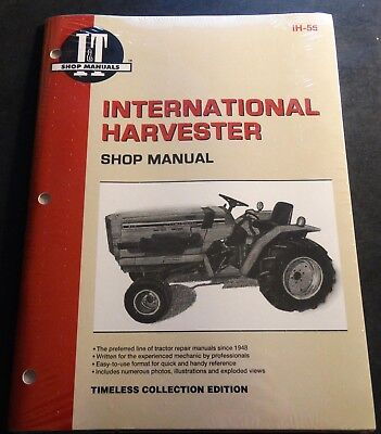 lot international 234 244 254 tractor service manual repair shop ih rh picclick com 12H802 Manual Yamaha Service Manuals PDF