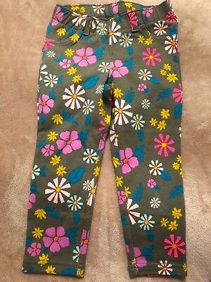Cat & Jack Toddler Girls Jeggings Sz 2T Bright Floral Print NWT's