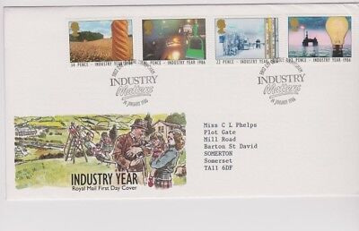 1986  Industry Year - Fdc And Mint Set