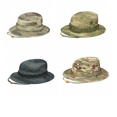 03b4ce1ea38 Propper Cotton Military Tactical Boonie Hat w  Chin Strap   Vent Holes -  Size 7.