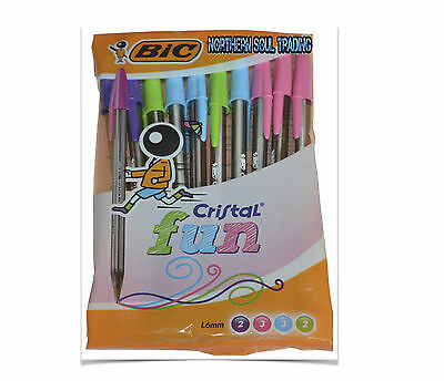 Bic Cristal Fun Ball Point Pens  *100% Authentic - Sale Now On*