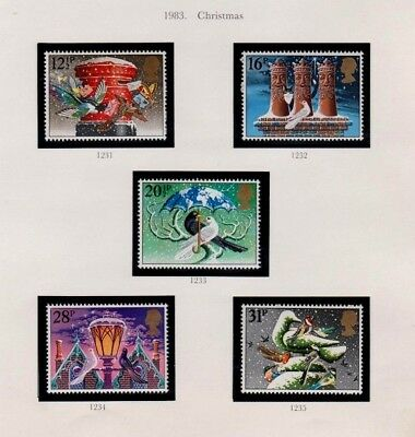 1983 2 X Sets. British Fairs And Christmas - Mint