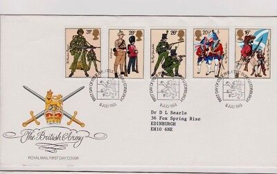 1983 The British Army - Mint Singles And  Fdc