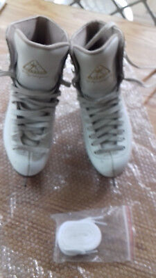 jackson Mystique ice skating boots size 3 in white