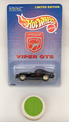 Hot Wheels Dodge Viper GTS Limited Edition with Real Riders