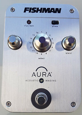 Fishman Aura Orchestra Acoustic Imaging Pedal - gebraucht top Zustand