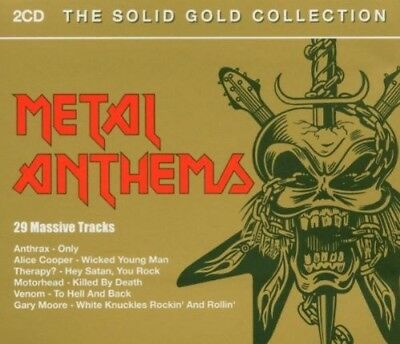 Various - Metal Anthems-Solid Gold Collection ZUSTAND SEHR GUT
