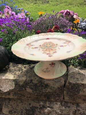crown devon erwin footed cake stand