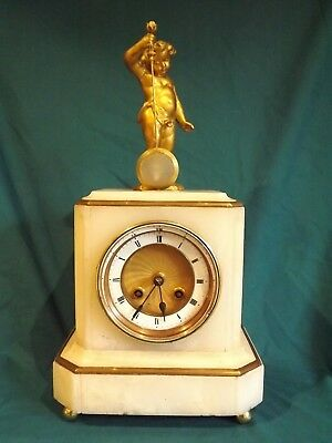 "19c French ""Mystery"" Clock For Attention."