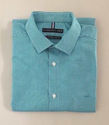 Limited Editions-Check Cotton Business Shirt-Size S 37/38