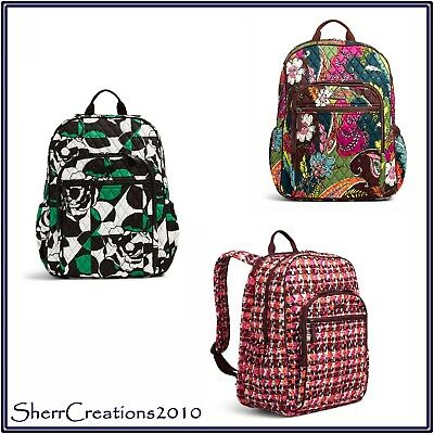 e3961fbfa088 NWT Vera Bradley Campus Tech Backpack Travel Work Bag Bookbag  180515-271