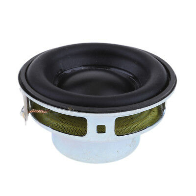 40mm 4Ohm 5W Full Range Audio Speaker Round Loudspeaker 16 Coil Rubber Edge