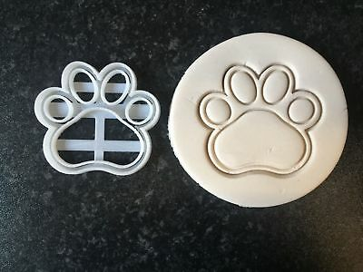 Paw Patrol print Cookie Cutters Cup Cake Cake Decorating Fondant  UK Seller