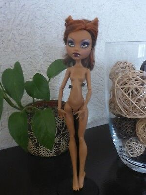 Monster High - Clawdeen Wolf (Nude)