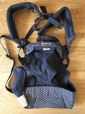 Ergo Baby 360 Dusty Blue - 4 Position Baby Carrier - Excellent Condition