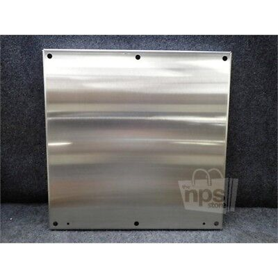 """Cooper B-Line AW2424SP Enclosure Panel, 20.87""""x20.87""""x0.75"""", Stainless Steel"""