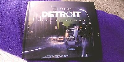 Detroit Become Human Artbook Pre order Bonus. Ps4