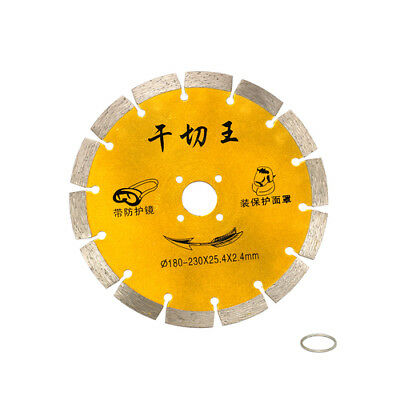 6'' 180mm Diamond Saw Blade Circular Cutting Disc Ceramic Concrete Cutter Tool