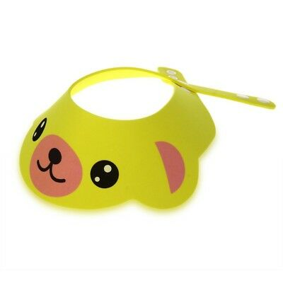 Baby Kid Toddler Bath Shower Cap Hat Wash Hair Shampoo Shield Adjustable  H5P1