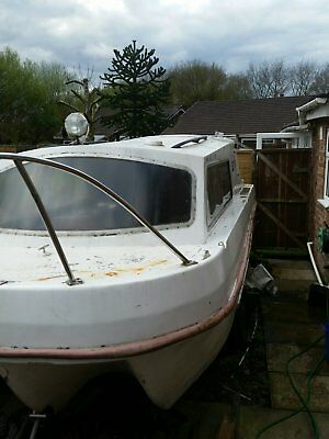 20ft Canal/River Cruiser Dawncraft Dandy Project Boat