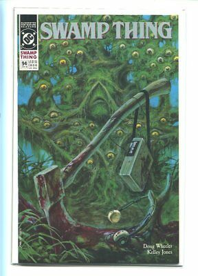 Swamp Thing #94 Nm 9.6 41990 Horror Laced Cover Gem