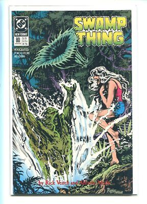 Swamp Thing #80 Nm 9.6 1989 Gorgeous Cover Gem
