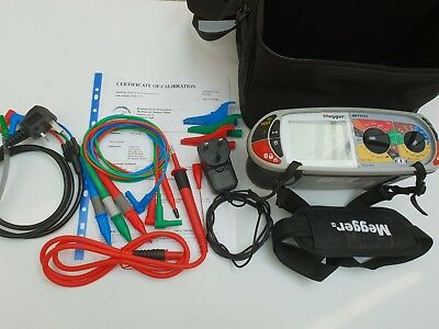 Megger Multifunction 1731 Tester 17th Edition Brilliant Condition 12 Mths Cal