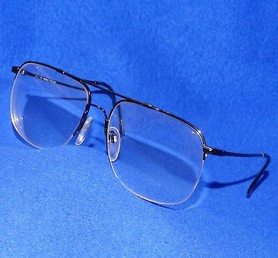 f1a52293a4 GREAT MARCHON Rx FLEXON AUTOFLEX 17 AVIATOR HALF RIM STEEL GREY EYEGLASSES