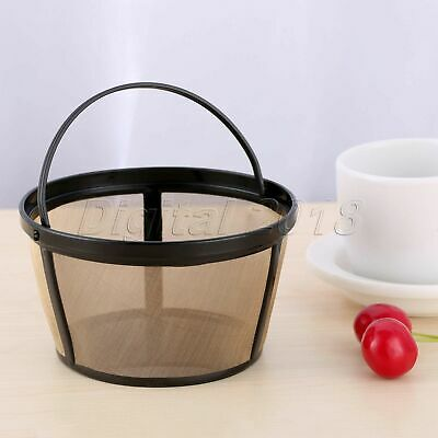 Coffee Filter Basket-style Reusable Permanent Mesh Coffeemaker Parts Tool 1pc