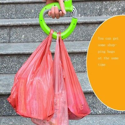 D Shape Shopping Bag Save Effort Mention Food Carrying Helper Tool