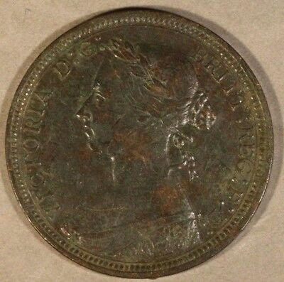 1889 Great Britain 1/2 Penny                      ** FREE U.S. SHIPPING **
